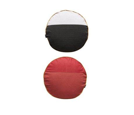 OYOY Pillow PI-sidet flerfarvet rød bomuld Ø38cm
