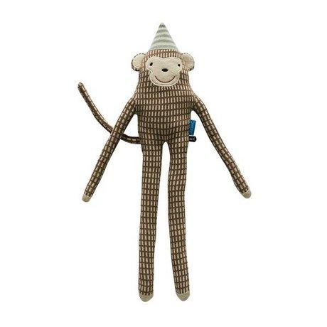 OYOY Hug mr. Nelsson braun Baumwolle 62x17cm