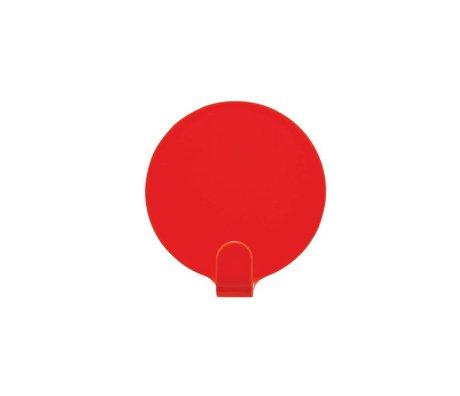 OYOY Ping iki kırmızı çelik Ø5cm set parantez