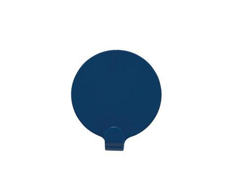 OYOY Ping Beslag sæt af to blå stål Ø5cm