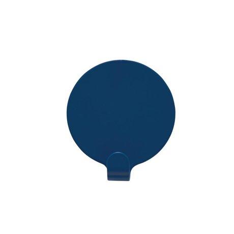 OYOY Ping soportes de juego de dos de acero azul Ø5cm