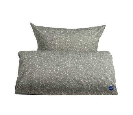 OYOY Duvet starry adult extra-long gray and white cotton 140x220cm