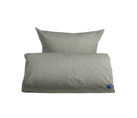 OYOY Duvet starry erwachsener grau weiß Baumwolle 140x200cm