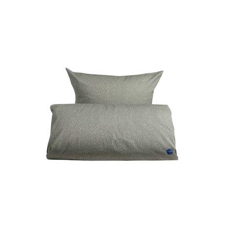 OYOY Duvet starry Baby grau weiße Baumwolle 70x100cm