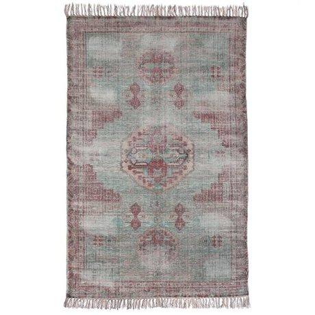HK-living Rug multicolour cotton 180x280cm