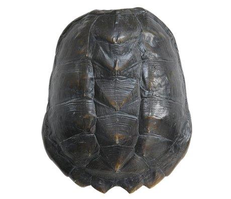 HK-living artificial tortoiseshell black plastic 34x28x11,5cm