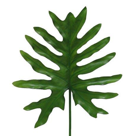 HK-living Deko Philodendron-Zweig 73 cm
