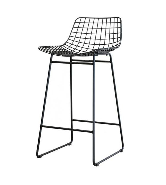 Most Bar Stools Are Pretty Similar To Each Other But This Thread Steel Stool Hk Living Jumps Or Just Say Out The High Of Painted Wire And