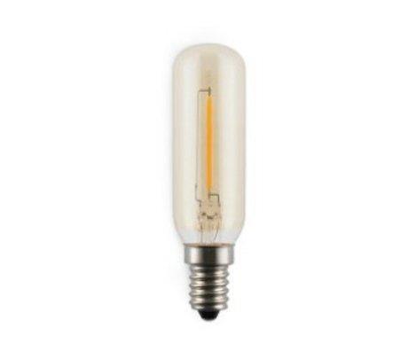 Normann Copenhagen Ampoule LED Ampère a conduit 2W verre et filament de carbone Ø2,5x9,5cm
