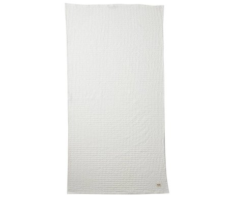 Ferm Living Organic bianco 70x140cm stoffa tessile