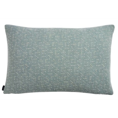 OYOY Pillow Tenji dusty blue white wool 40x60cm