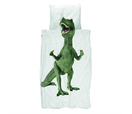 Snurk Beddengoed Duvet Dino multicolor cotton 200x200 / 220cm