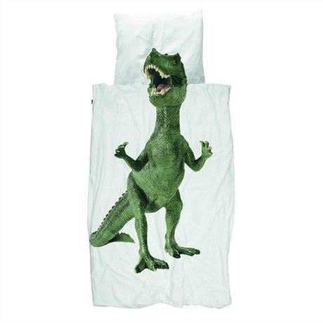 Snurk Beddengoed Duvet Dino cotone multicolore 200x200 / 220 centimetri