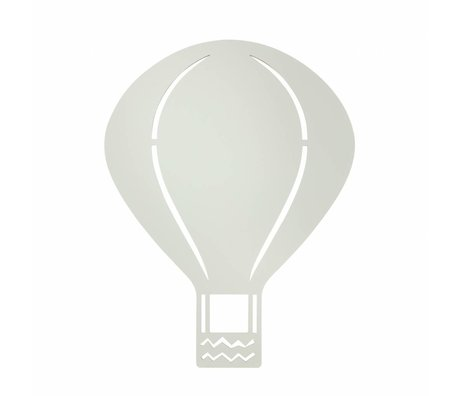 Ferm Living Lámpara de pared de madera de color gris Globo 26,5x34,55cm