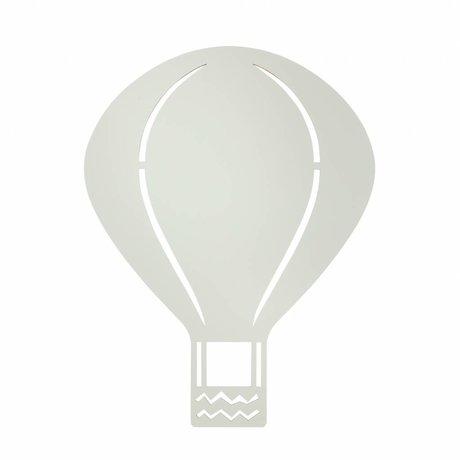 Ferm Living Duvar lambası Balon gri 26,5x34,55cm ahşap