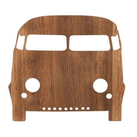 Ferm Living Duvar lambası otomobil kahverengi ahşap 27x22,5cm