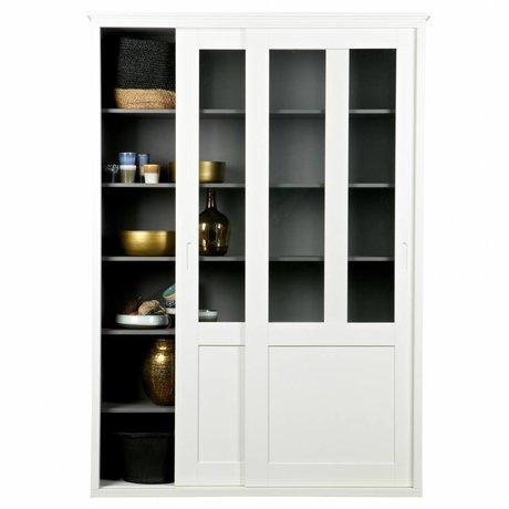 LEF collections Armadi Vince pino bianco 208x147x46cm