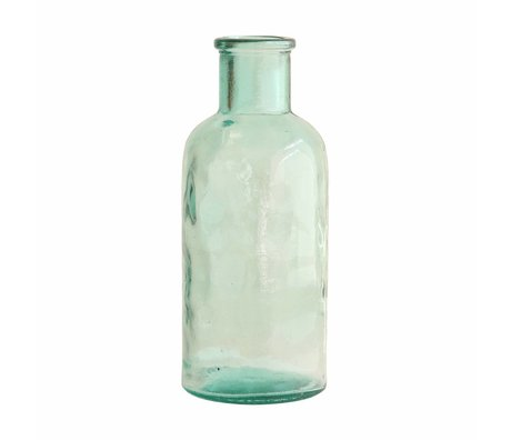 HK-living Vaso di grandi dimensioni 11x11x27cm vetro
