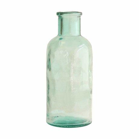 HK-living Vase stort glas 11x11x27cm