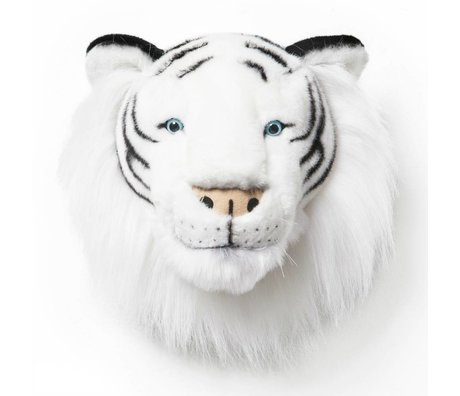 Wild and Soft Tier Tiger Albert monochrome Textil 25x30x30cm