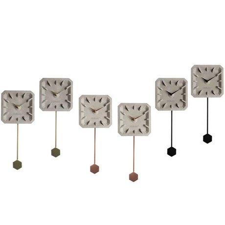 Zuiver Timer tikkende Mix Sæt med 6 flerfarvet 15,5 × 37,5 × 4 cm