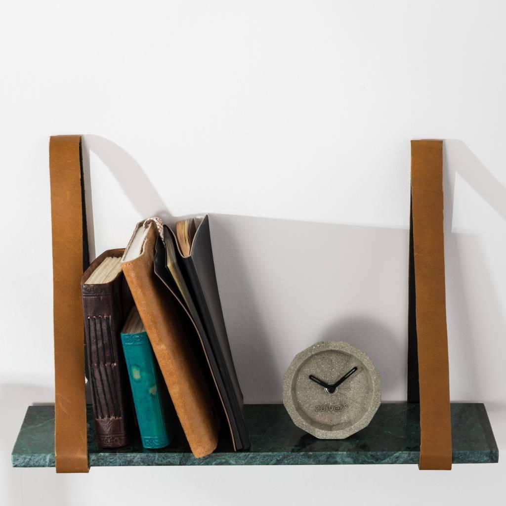 Marble wall shelf