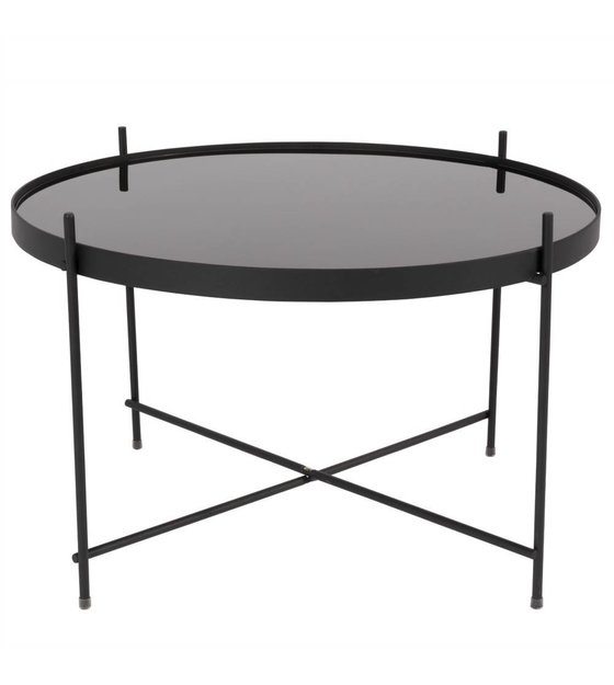 zuiver beistelltisch amor gro e schwarze metall schwarz. Black Bedroom Furniture Sets. Home Design Ideas