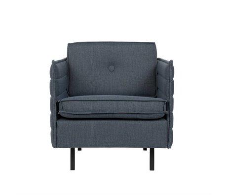 Zuiver Armchair Jaey bluegray textile metal 72x90x76cm
