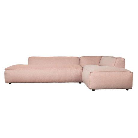 Zuiver Banca Fat Freddy 3 posti lungo Pretty Pink plastica 308x103 / 88x72cm