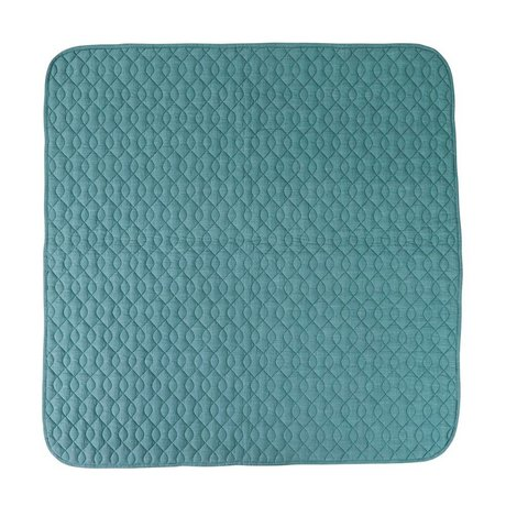 Sebra Blue cotton blanket 120x120cm