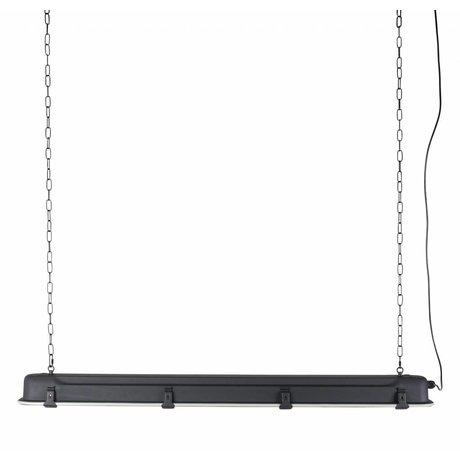 Zuiver GTA XL ciondolo luce nera, metallizzato 130x14x10cm nero