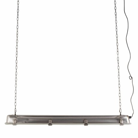 Zuiver GTA pendant lamp nickel, metallic gray 200cm