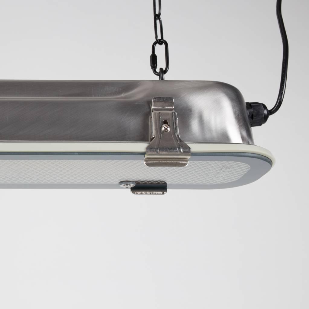 Zuiver GTA níquel lámpara colgante, 200cm grises metálicos ...