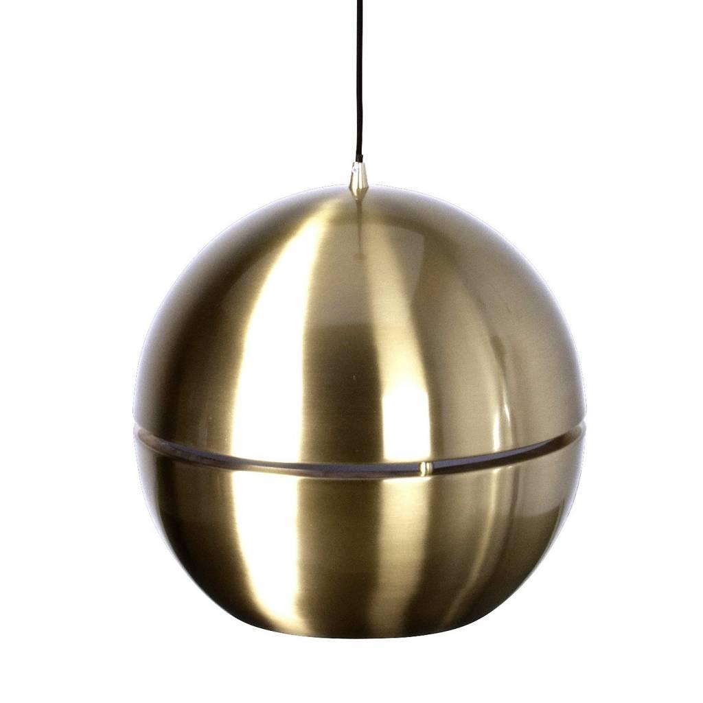 zuiver h ngende lampe retro 70 39 guld metal 40x37cm. Black Bedroom Furniture Sets. Home Design Ideas