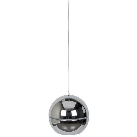 "Zuiver Hængende lampe ""Retro 70"" krom metal Ø50x47cm"