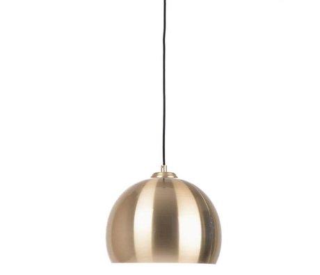 Zuiver Büyük kolye ışık Glow pirinç metal Ø27x21cm