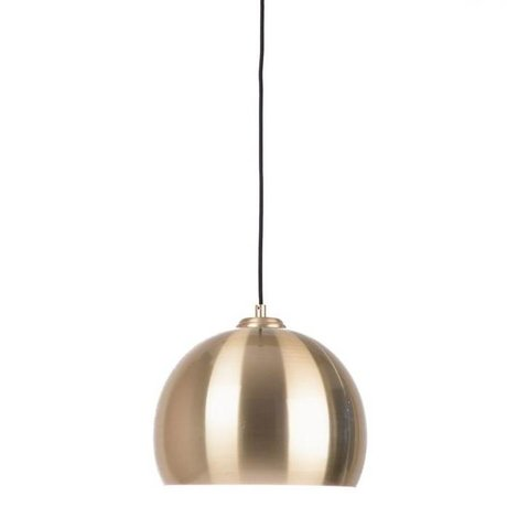 Zuiver Large pendant light Glow brass metal Ø27x21cm