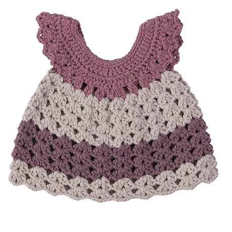 Sebra Puppenkleidung lila 40 cm de algodón de color púrpura