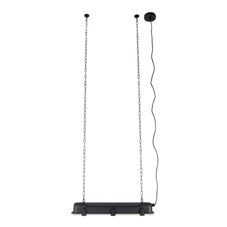 Zuiver GTA pendant light black, metallic black 70x14x10cm