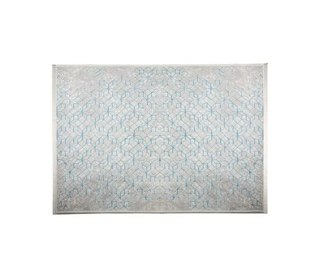 Zuiver Tapis Yenga Breeze 160x230cm bleu