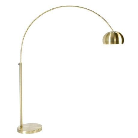 Zuiver Stehlampe aus Metall Bogen Messing, Gold 190-205cm