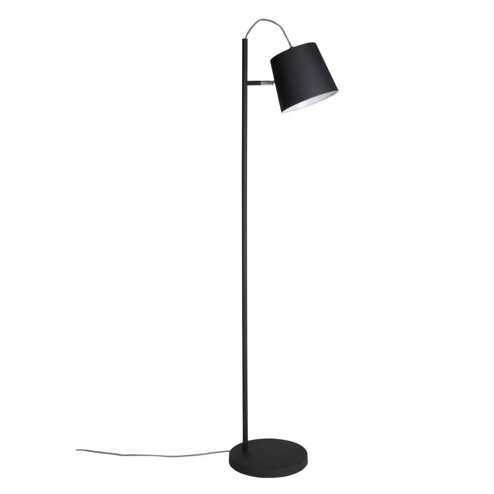zuiver t te lampadaire buckle m tal noir 150cm noir. Black Bedroom Furniture Sets. Home Design Ideas