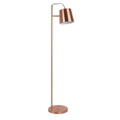 Zuiver Floor Lamp Buckle head copper, metal copper 150cm
