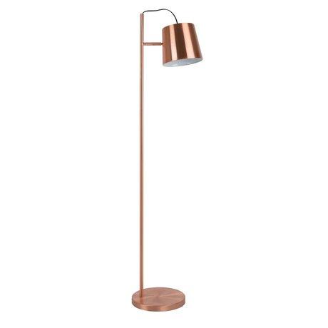 Zuiver Floor Lamp Buckle head copper, metal copper 150cm