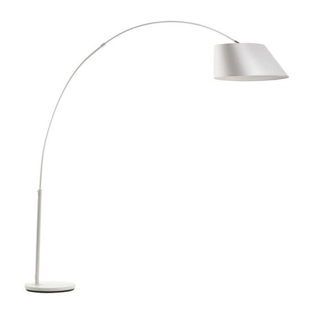 Zuiver Arc Stehlampe weiß, Metall weiß 215cm