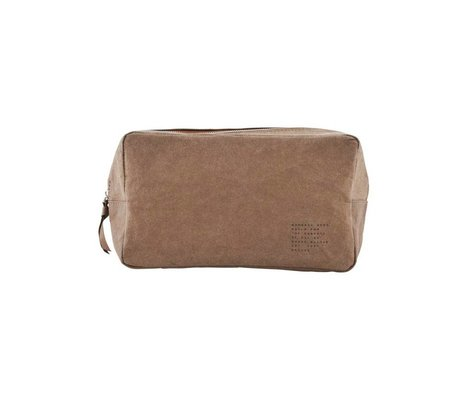 Housedoctor Toiletry Nomadic Kraft olive 24x10x14xcm