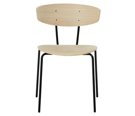 Ferm Living Dining chair Herman brown 50x74x47cm Wood Metal