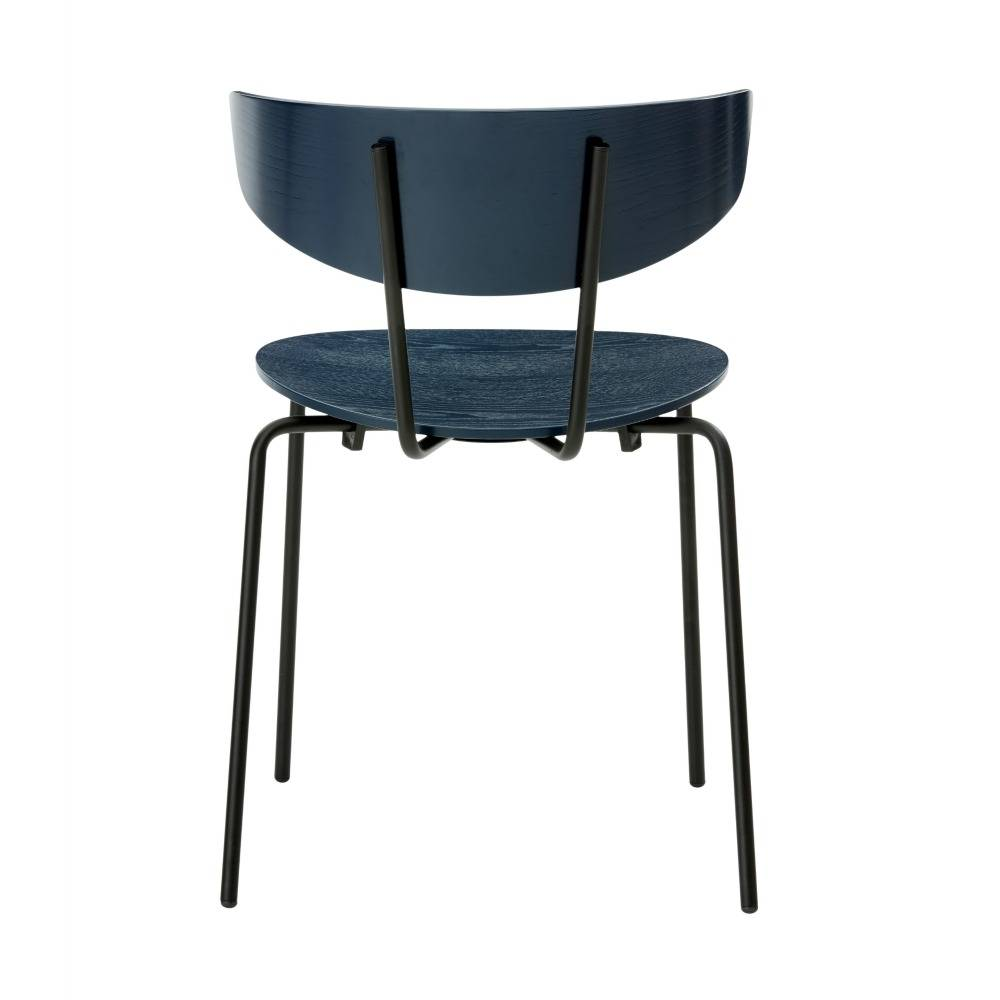 Ferm Living Cena de la silla Herman azul oscuro 50x74x47cm Madera ...