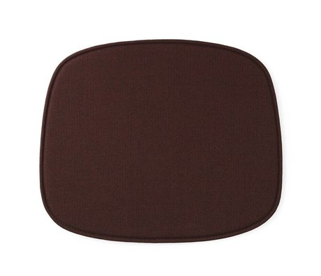 Normann Copenhagen Koltuk formu kırmızı tekstil 46x39x1cm