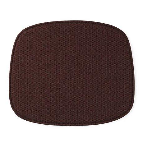 Normann Copenhagen Sæde formular rød tekstil 46x39x1cm